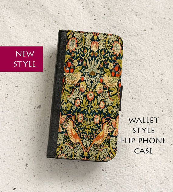 Phone case  Strawberry Thief  William Morris  by OutFromTheShadows