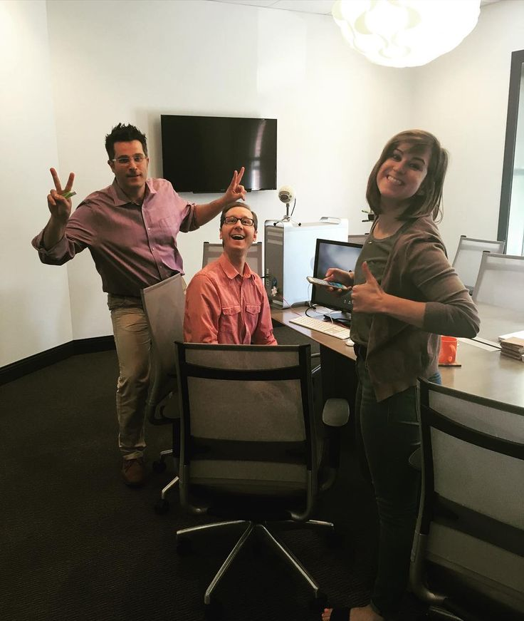 The office was buzzing with excitement this afternoon during our webinar The New Normal. Special thanks to Carol Valianti and Jonalyn Morris our rock-star co-hosts! #PRhaschanged #officelife #marketingmania #webinarwednesdays