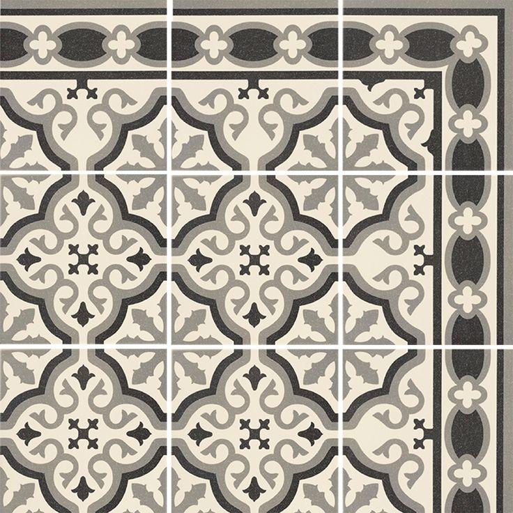 Best dalle pvc imitation carreau de ciment gallery - Dalles vinyle imitation carreaux de ciment ...