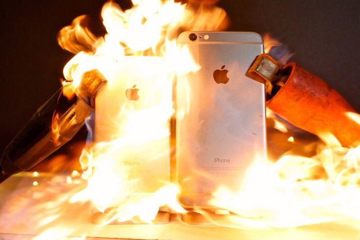 iPhone'a 6000 Amperlik Elektrik Akımı Verilirse...