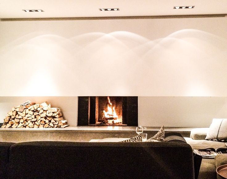 Enjoying our new #fireplace!