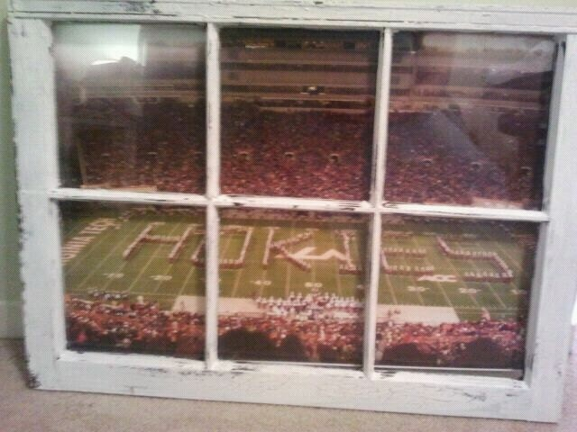 Virginia Tech Hokies Window. via Etsy.