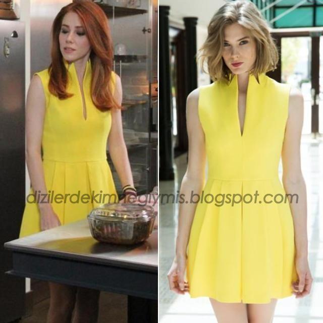 Kiralık Aşk - Defne (Elçin Sangu), Yellow Dress