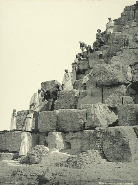 30 Schitterende Foto's Van Hoe Egypte Er In 1870 Uitzag