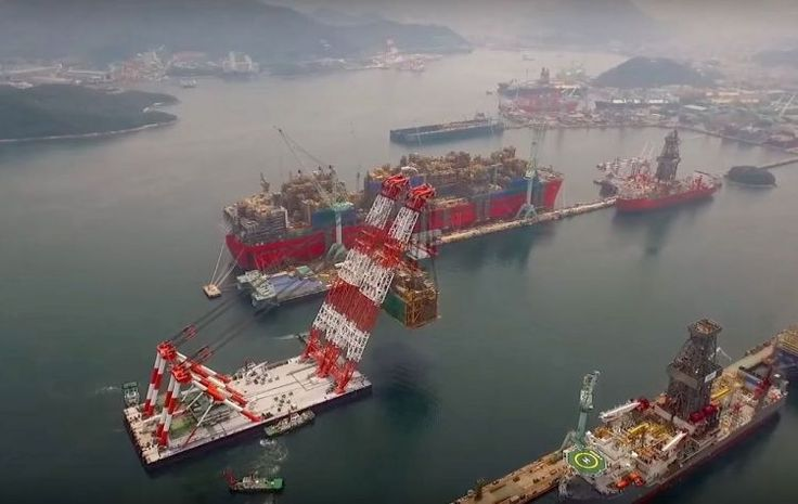 Programmed to support Technip on Prelude FLNG job