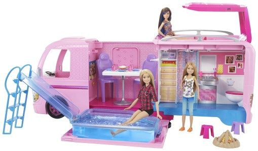 Barbie Camper | Mattel holiday top toys prize packs