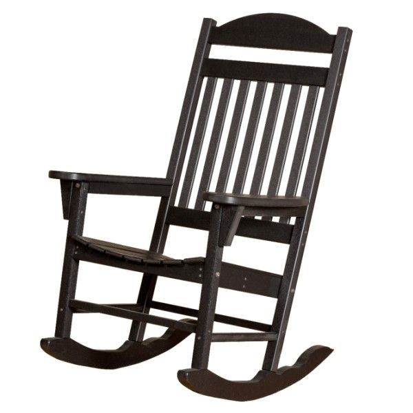Little Cottage Co. Heritage Traditional Recycled Plastic Rocking Chair