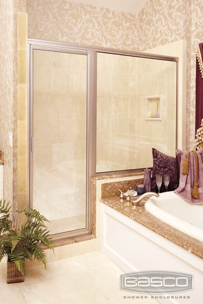 how to clean shower doors with baking soda and vinegar
