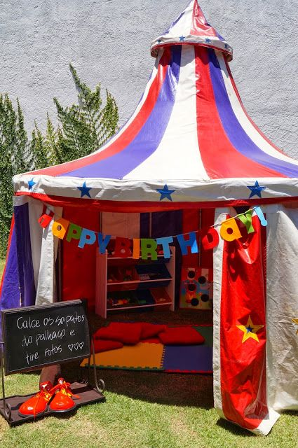 Projetos Inventivos - festa circo