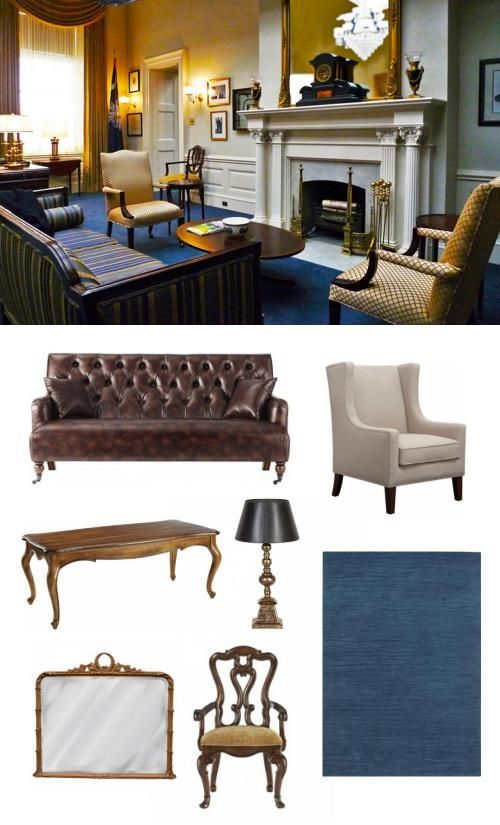 House Of Cards Franks Office Adoredecor