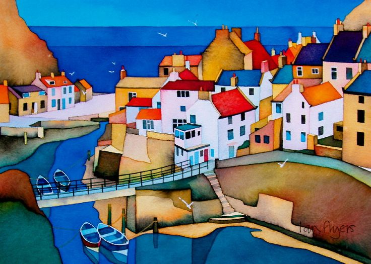 Malcolm Coils. Staithes