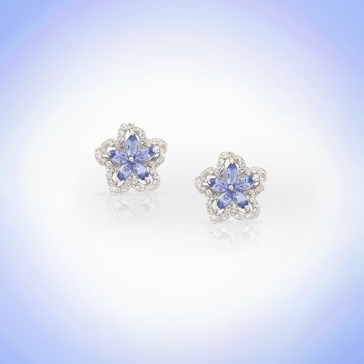 Tanzanite Earrings | Gemporia India