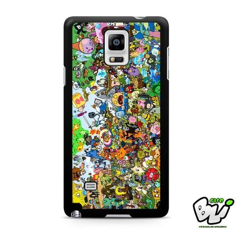 Adventure Time All Character Samsung Galaxy Note 4 Case