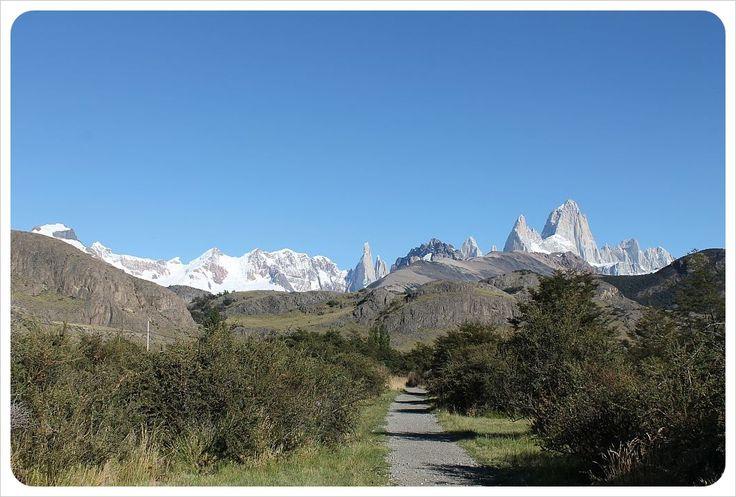 el chalten hiking path