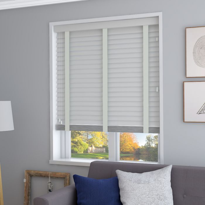Real Wood Pebble With Mellow Tape In 2020 Grey Blinds Real Wood