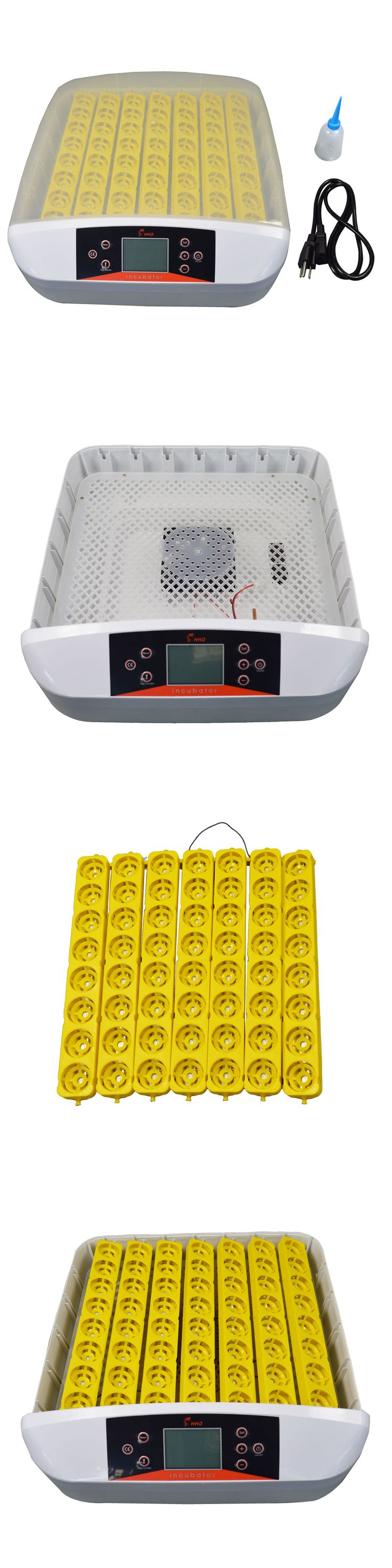 Incubators 46292: Egg Incubator Hatcher Digital Auto-Turning With Built-In Candler 56 Eggs 110V BUY IT NOW ONLY: $170.05