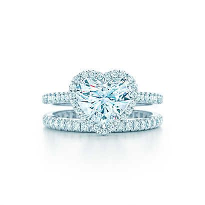 Tiffany Soleste Heart Engagement Rings | Tiffany & Co.