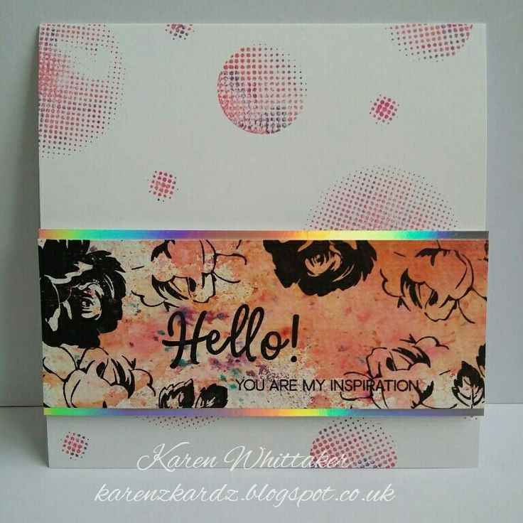 Altenew Vintage Flowers and Halftone Circles stamp sets #altenew #vintageflowers #halftonecirclesstamp #pixiepowders #distressinks #flowers #stamping #stamps #cardmaking #cards #handmade #craft #creative #inky #fun #ilovetocraft