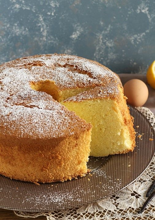 Chiffon Cake o ciambellone americano senza burro