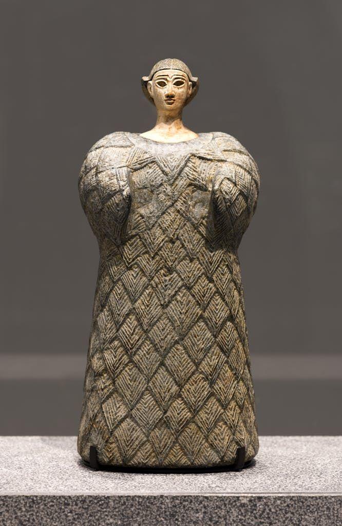 Bactrian 'princess', (2,300–1,700 BC), Louvre Abu Dhabi