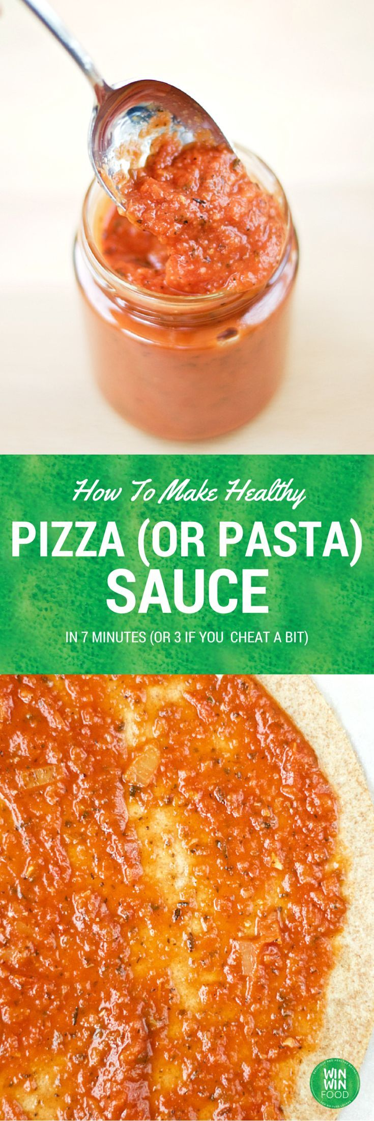 How To Make Pizza Sauce (Or Pasta Sauce) in 7 Minutes