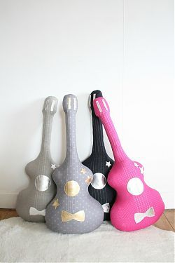 Guitar Pillow at Bellini