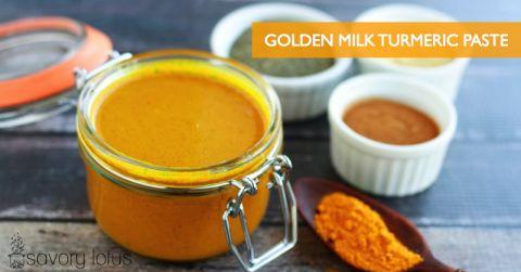 turmeric, golden milk, turmeric paste