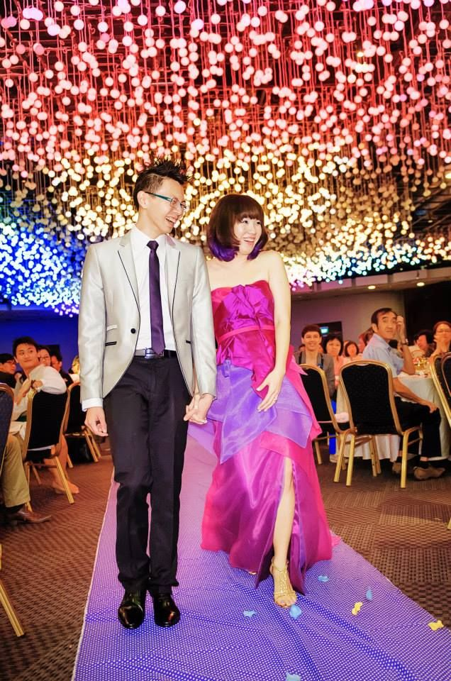 A Singapore wedding at the FlowerDome GardensbytheBay
