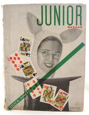 Alexey Brodovitch - Junior Bazaar, October 1946