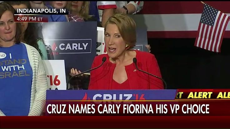 Carly Fiorina sang a special song to Ted Cruz's two daughters today after announcing that she will join Cruz on his presidential ticket.