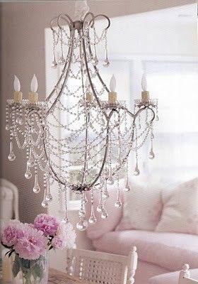 Shabby chic interiors omg love this light