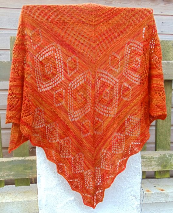 17 Best images about Knitted lace shawls on Pinterest ...