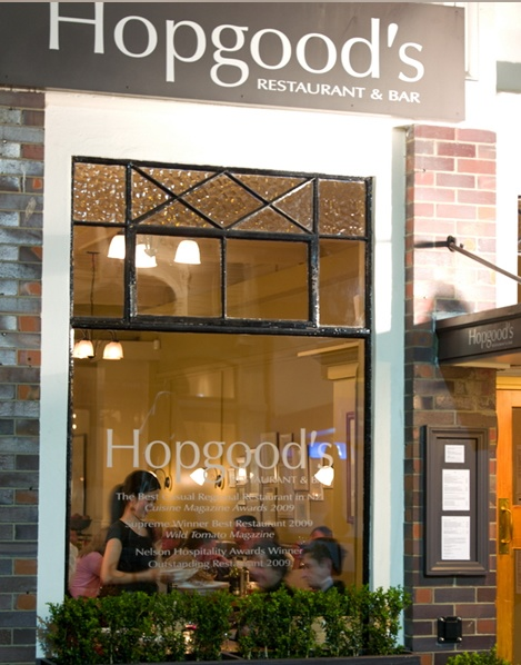 Totally fab food in Nelson, NZ.