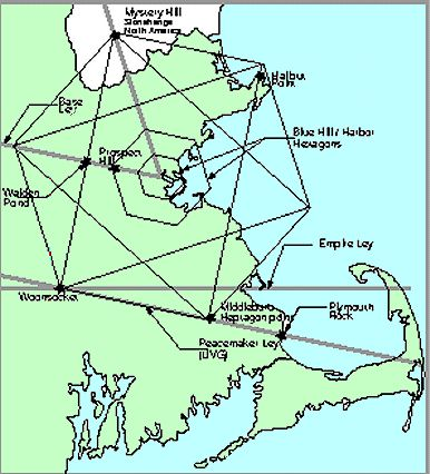 Ley Lines Gaia And In America On Pinterest