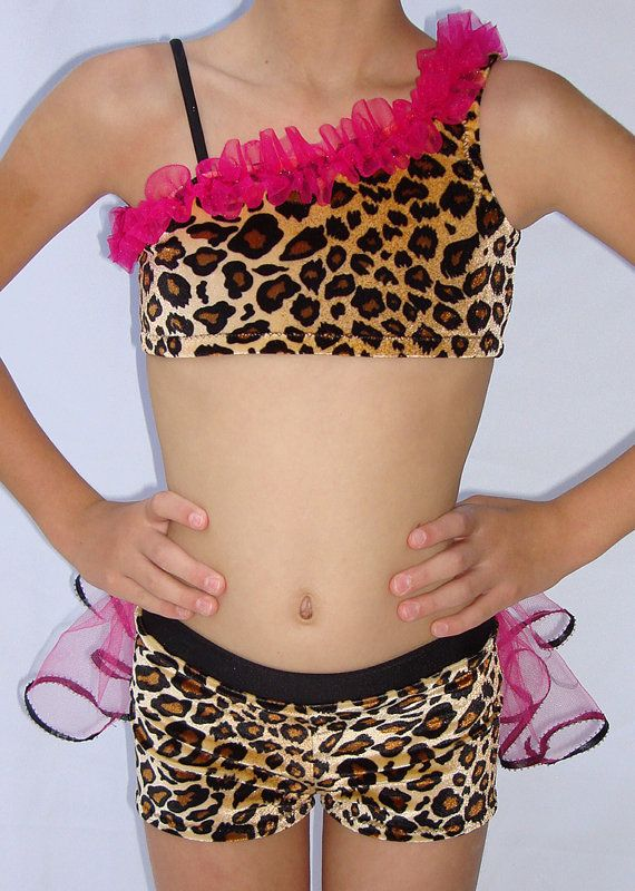 Cheetah Outfit for a FIERCE dance costume. by DanceMomsDanceWear: cute