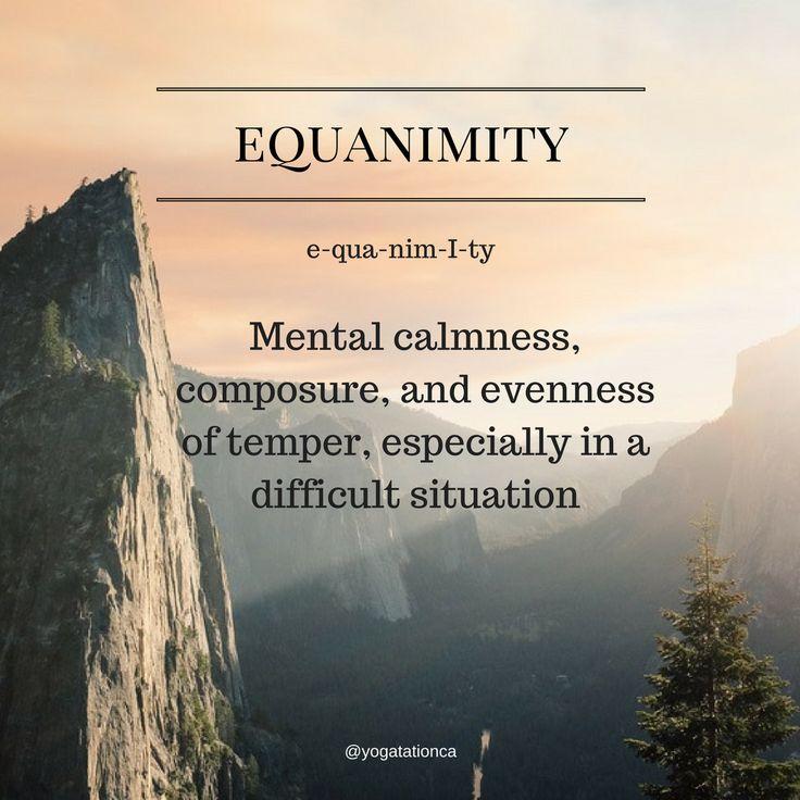 Equanimity  #40daysofsocial