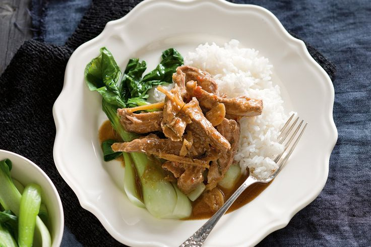 Slow-cooker caramel pork with Asian greens http://www.taste.com.au/recipes/30031/slow+cooker+caramel+pork+with+asian+greens