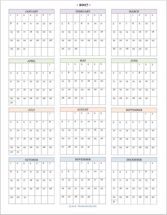 Next Year Calendar : Best ideas about at a glance calendar on pinterest