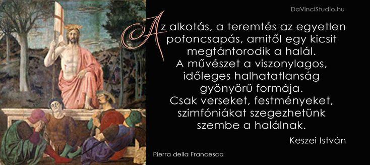 Idézetek a művészetről Pierra della Francesca
