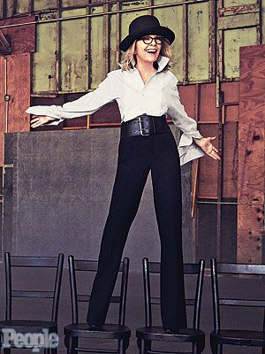 How can you not LOVE Diane Keaton!  #flawless <3