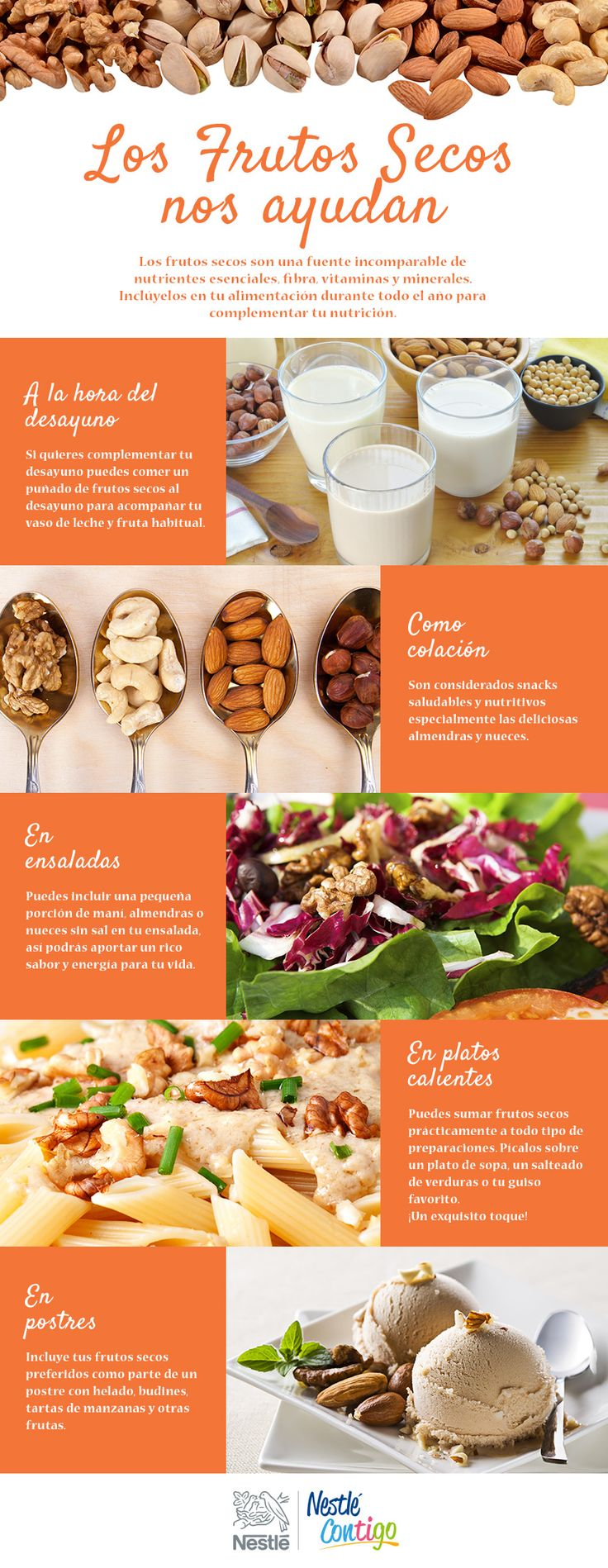 Los Frutos Secos nos ayudan | Mas nutricion | Nestlé Contigo
