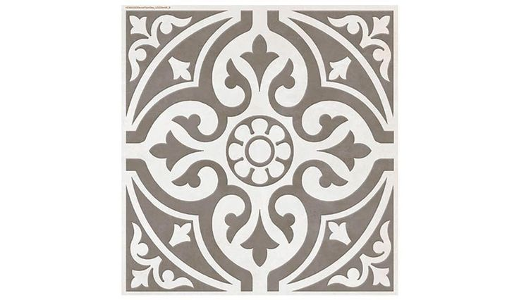 Devon Stone Grey Feature Floor Tile 33x33cm - Tons of Tiles