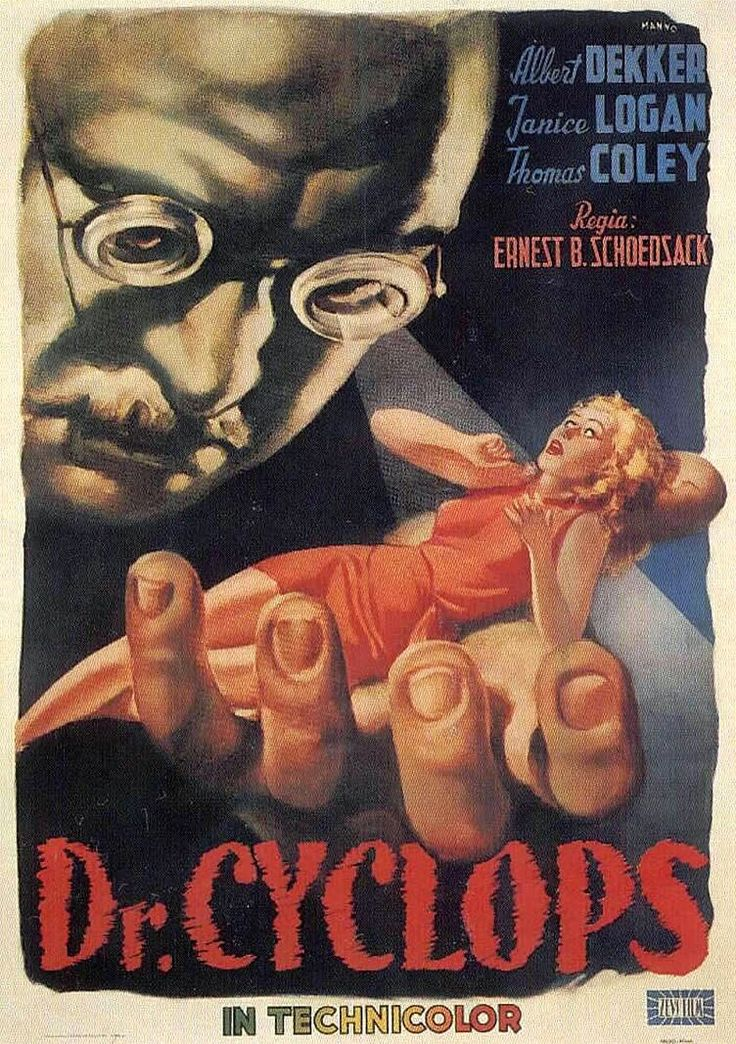 1940 Dr. Cyclops. ART & ARTISTS: Film Posters 1940s Movie Posters 1940s - part 1