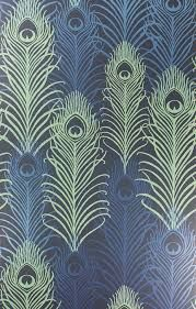 dark blue wallpaper uk - Google Search designer wallpaper £85