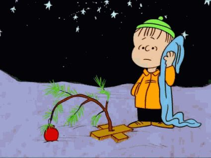 """oldfarmhouse:  """"A Charlie Brown Christmas is a 1965 animated television special based on the comic strip Peanuts, by Charles M. Schulz. Produced by Lee Mendelson and directed by Bill Melendez, the program made its debut on CBS on December 9, 1965. In..."""