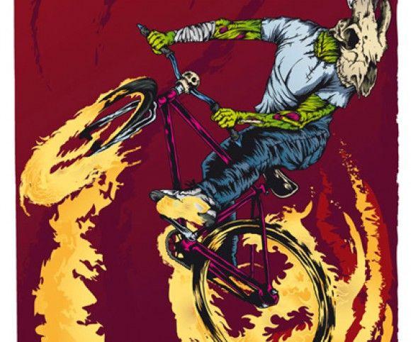 Marcos Cabrera » Goat SKull Rider