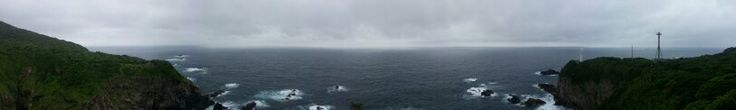 Desde la punta Ashizuri (足摺岬), donde se puede ver más de 180° del océano Atlántico.
