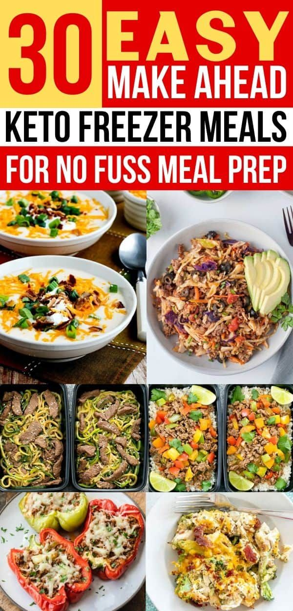 30 Keto Dinners That Are Freezer Friendly Beyond Easy Low Carb Freezer Meals Keto Meal Prep Freezer Meal Prep