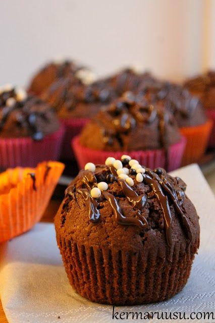 Kermaruusu: Isot suklaamuffinssit