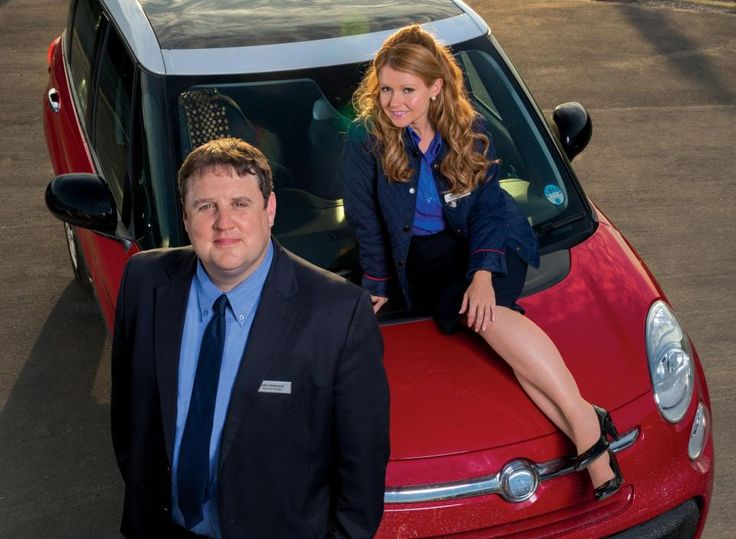 Sian plays Peter Kay's leading lady in the sitcom